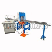 Automatic tube punching machine