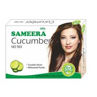 Sameera Cucumber Face Pack.