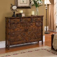 Tropical Accent Cabinet
