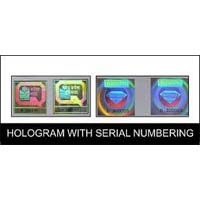 Holograms with Serial Numbering