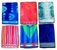 Velour Jacquard Beach Towel
