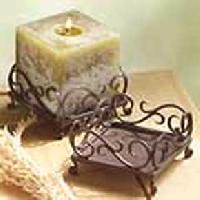 Iron Candle Holder - 005