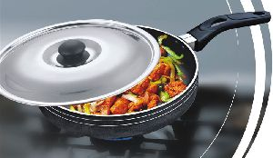 Non Stick Fry Pan With Lid