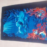 Fish Printed Towel