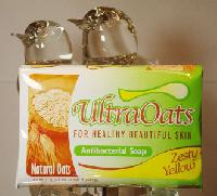 Zesty Yellow Ultraoats Antibacterial Soap