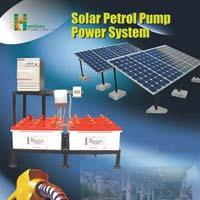 Solar Petrol Pump Power Pack