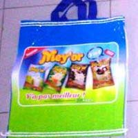 Multicolor Printed Bopp Laminated Pp Woven Perforated Bags