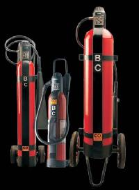Co2 Wheel Mounted Fire Extinguisher