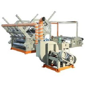 Double Profile Fingerless Heavy Duty High Speed Paper Corrugation Machine