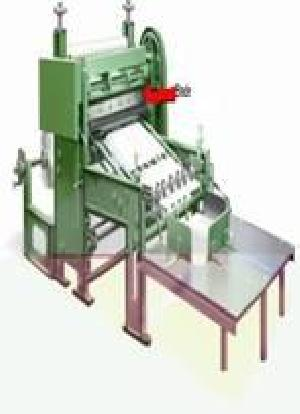 Simplex Type Paper Roll To Sheet Cutting Machine