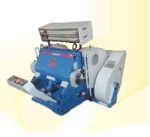 Die Cutting Machine With Hot Foil Stamping Attachment