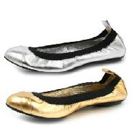 Leather Ballerina Shoes (02)