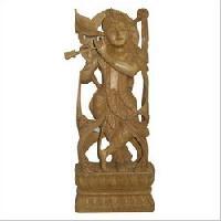 sandalwood statue