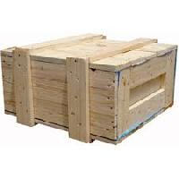 Jungle Wood Packing Crates