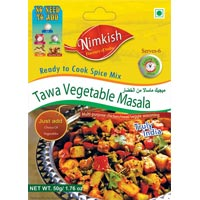 Tawa Vegetable Masala