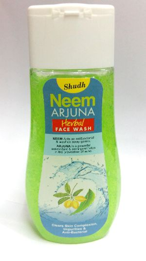 Shudh Neem Arjuna Herbal Face Wash