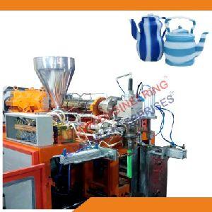 Double Color Plastic Blow Molding Machine