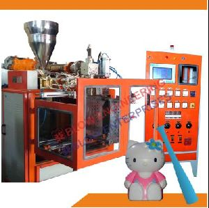 Double Color Plastic Toys Blow Molding Machine