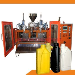 Double Station Lubricants Container Plastic Blow Molding Machine