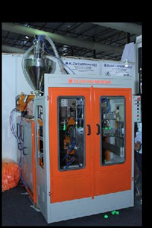 Multicavity Auto Deflashing Plastic Extrusion Blow Molding Machine