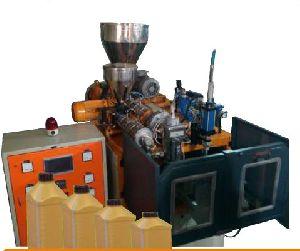Single Station Auto Deflashing Blow Molding Machine