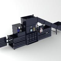 Closed End Horizontal Baler