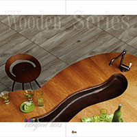 Wooden Finish Digital Glazed Vitrified Floor Tiles (600X600 MM)
