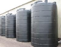 Plastic Cylindrical Vertical Storage Tank