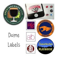 Labels And Dome Stickers Printing