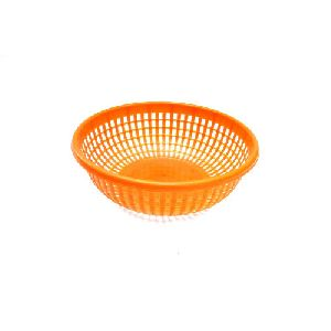 Plastic Round Basket Without Handle