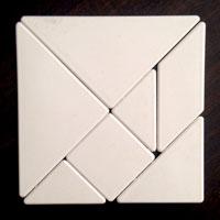 Tangram Math Puzzle