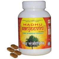 Herbal Anti Diabetic Madhusanjeevini Tablets