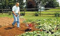 Lightweight Garden Tiller