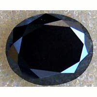 Black Moissanite Diamond
