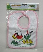 1pk Cotton Baby Bib