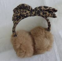 Cute Rabbit Fur Ear Muffs
