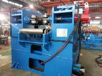 hydraulic plate straightening machine