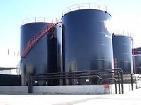 Steel Oil Storage Tank