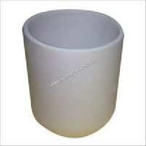 Refractory Cylindrical Mullite Crucibles