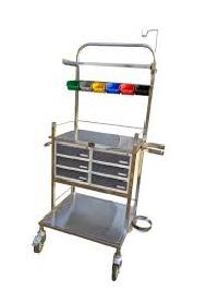 Stainless Steel Crash Carts