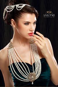 Trendy Partywear Pearl Jewelry