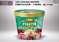 Ice Cream Plastic Cup