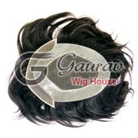Front Lace Patch Hair Wig