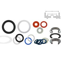 Rubber Tri Clover Clamp Gaskets