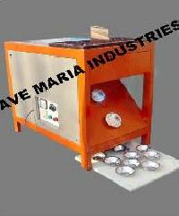 Fully Automatic Single Die Letter Box Type Paper Plate Making Machine