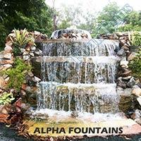 Natural Stone Waterfalls