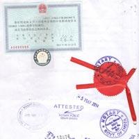 China Embassy Attestation Service