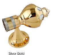 Brass Curtain Lotus Bracket