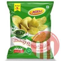 Yummy Green Chatni Wafers