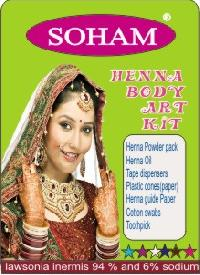 Body Art Henna Kit